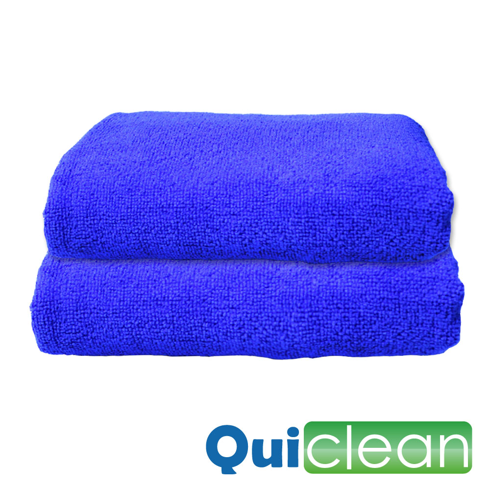 Quiclean 超細纖維洗車打蠟擦車毛巾-30cmx70cm加厚款
