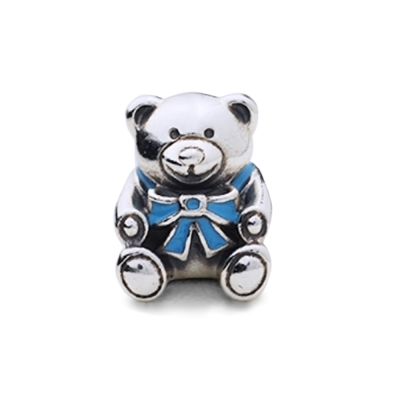 【Pandora】粉紅塘瓷泰迪熊