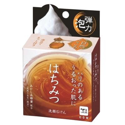 牛乳石鹼自然派蜂蜜洗顏皂80g /個
