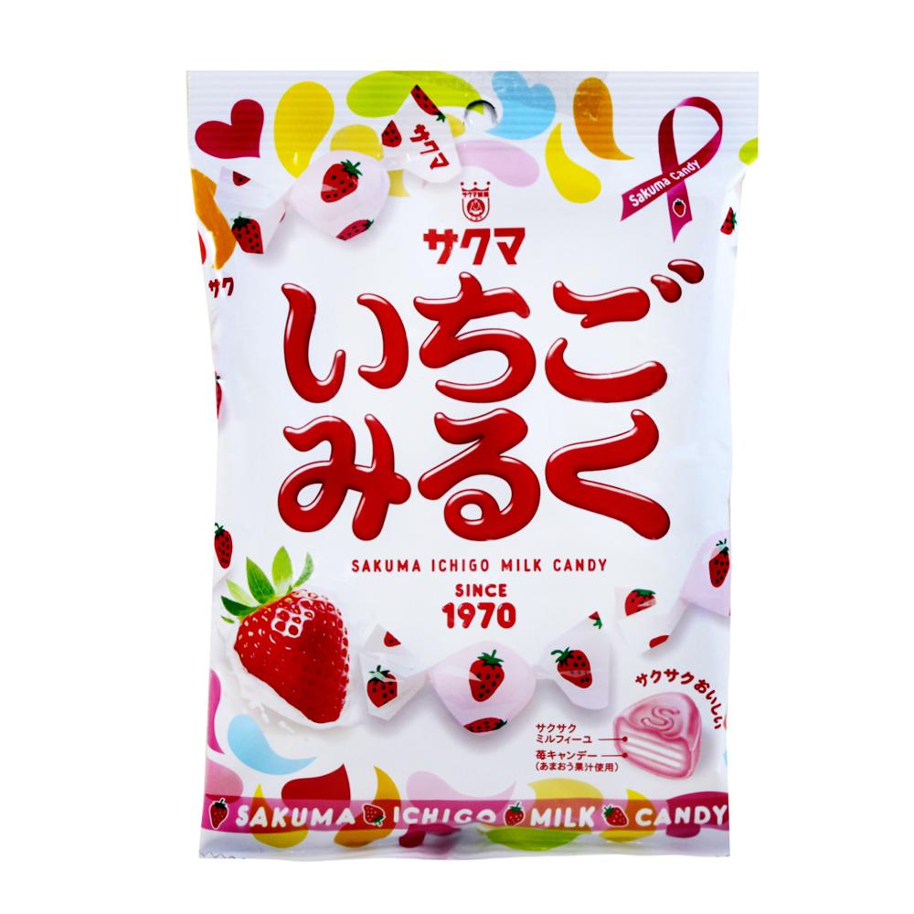 SAKUMA 草莓牛奶糖(100g)