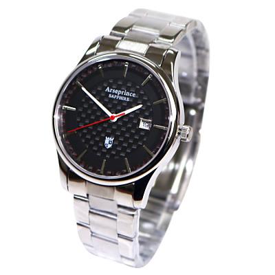 Arseprince 碳纖科技時尚風潮中性錶-黑色/32mm