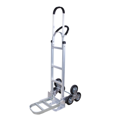 COLOR輕型爬梯鋁製手推車(折疊加長底板)