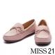 平底鞋-MISS-21-經典浪漫蝴蝶結羊皮平底鞋