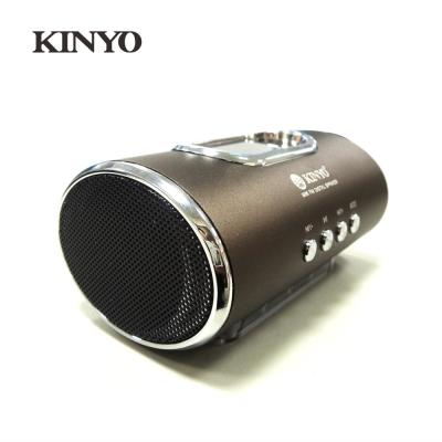 KINYO LED顯示FM讀卡喇叭MPS378