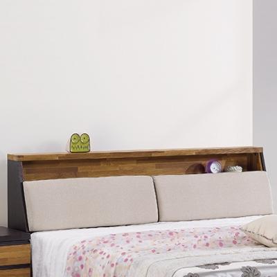 床頭箱-雙人5尺-歐絲被櫥式床頭箱-品家居