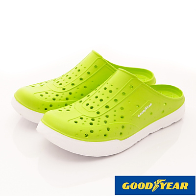 GOODYEAR-Q彈水陸鞋-EI3605螢綠(男段)