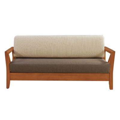 Boden-奇爾實木沙發三人椅