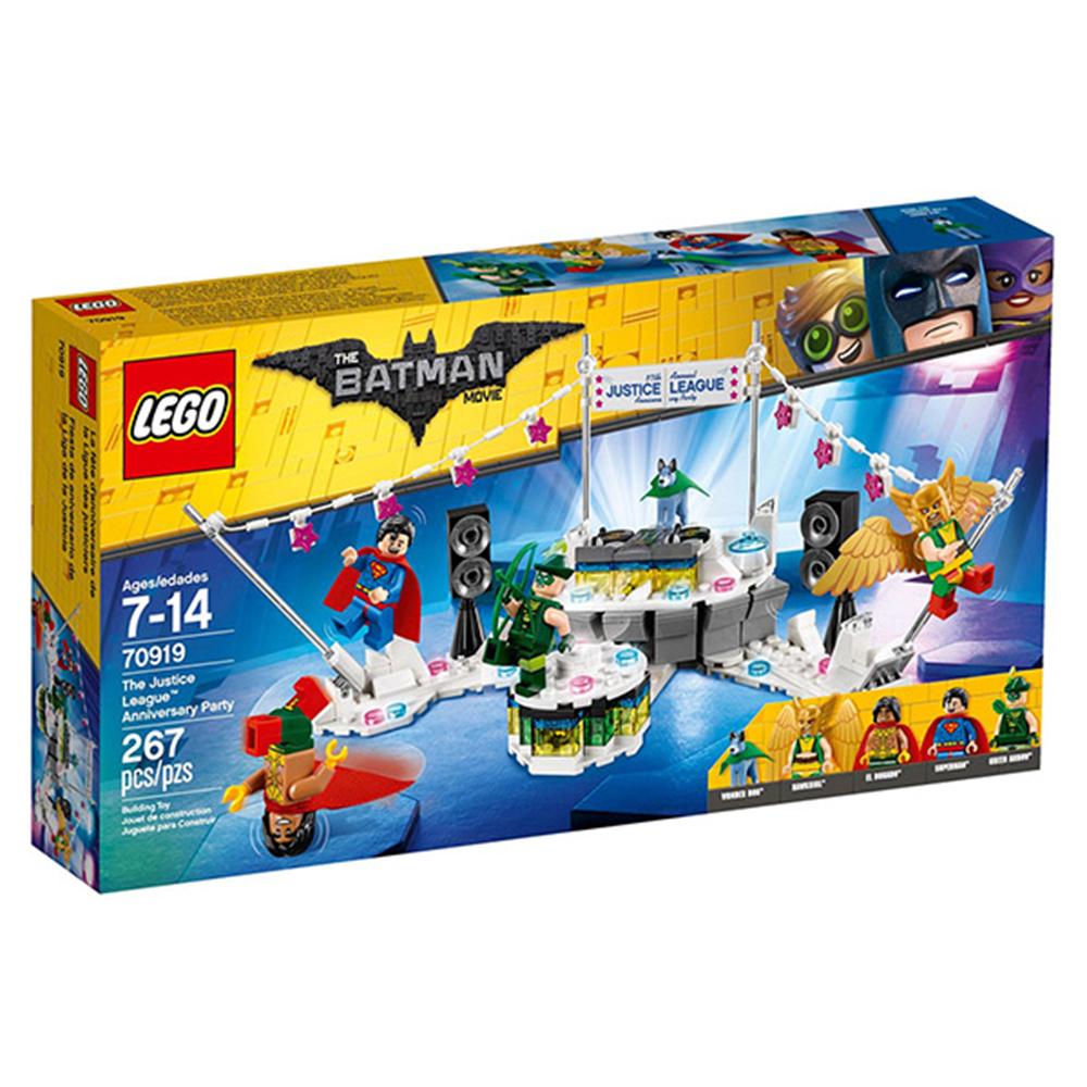 LEGO樂高 樂高蝙蝠俠電影系列 70919 正義聯盟 紀念派對