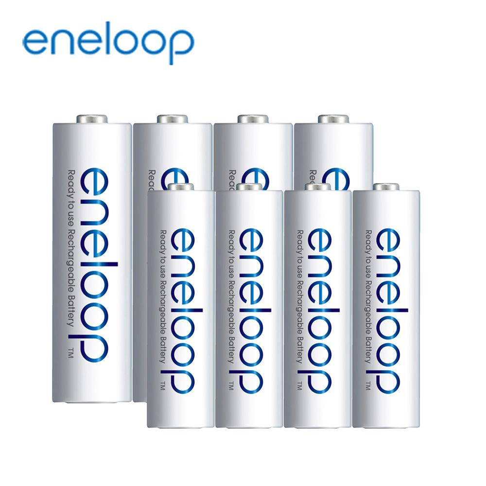 日本Panasonic國際牌eneloop低自放電充電電池組(內附3號4號各4入)