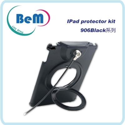 Bem Apple ipad air攜帶桌上兩用型平板防盜支架鎖(黑)