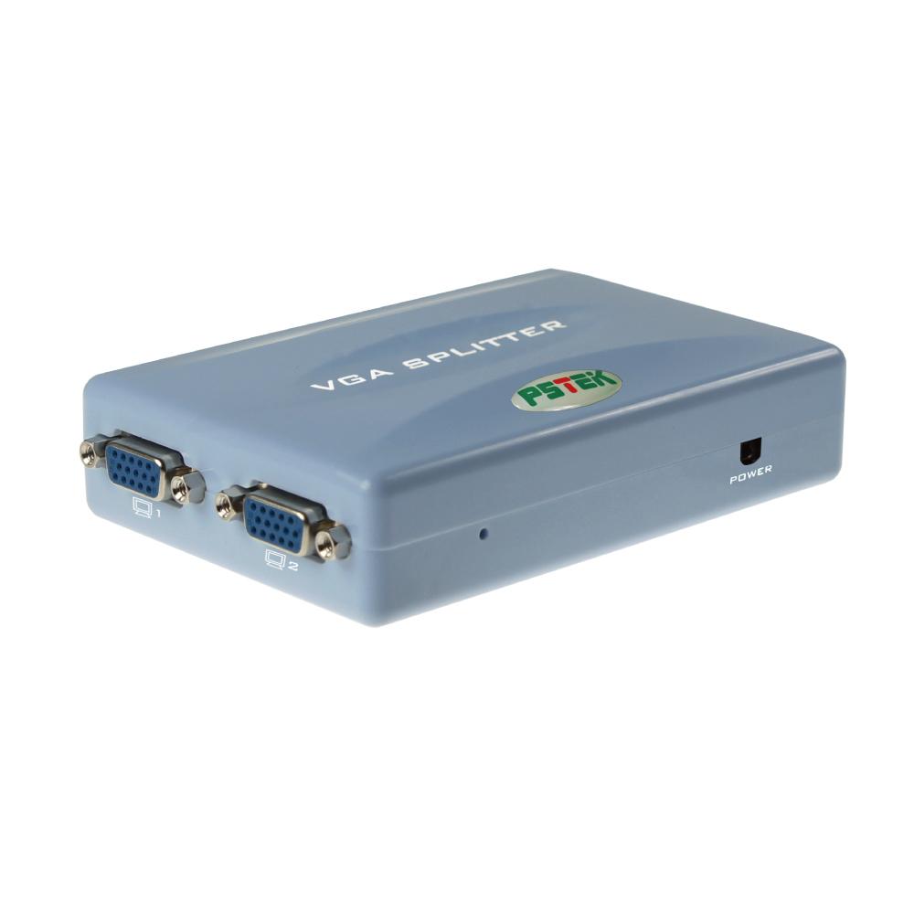 Pstek VPS-104 4埠掌上型螢幕同步廣播分配器