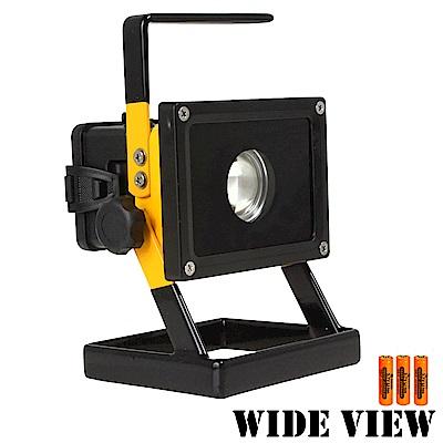 【WIDE VIEW】T6方形防水超亮工作/照明燈組(NZL-803-3BC)-快