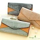手感的秀 頂級植鞣革品味時光藝術精品長夾(3色)