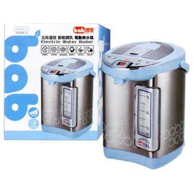 培寶bab-五段溫控節能調乳電動熱水瓶