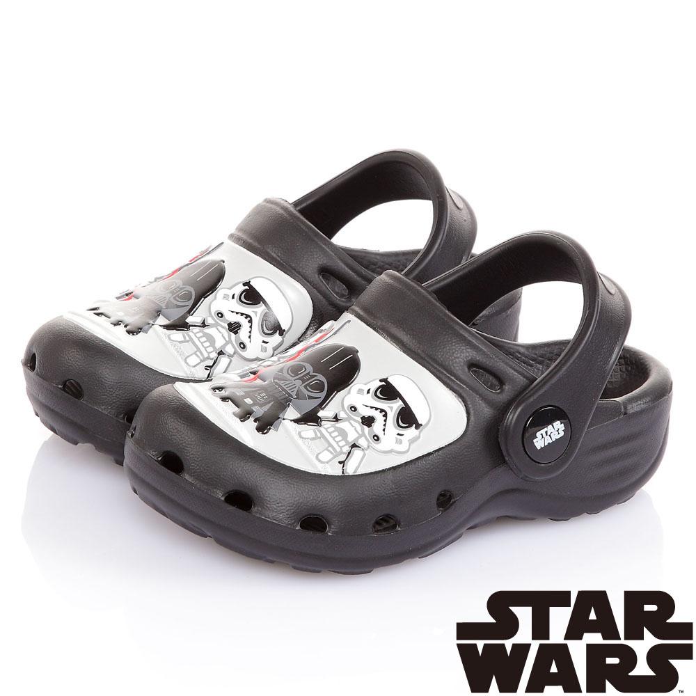 StarWars星際大戰 輕量拖涼鞋童鞋-黑(14.5-22cm)