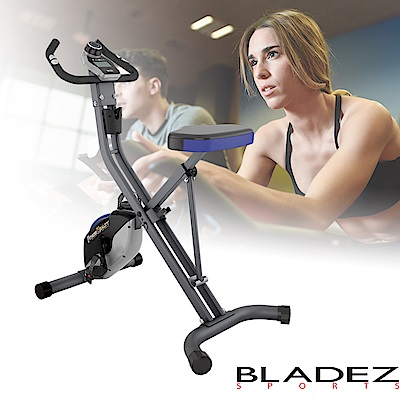 【BLADEZ】FITNESS REALITY S-TOP超強化磁控折疊健身車 F2100