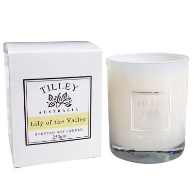 Tilley百年特莉 幸福百合香氛大豆蠟燭240g