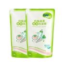 nac nac奶瓶蔬果洗潔精補充包2入組(600ml*2)