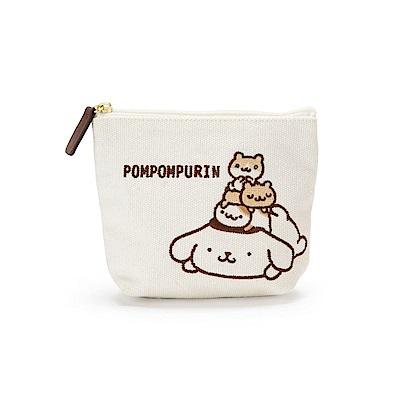 Sanrio 布丁狗永遠在一起系列帆布面紙化妝包