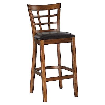 H&D仿古色高吧椅寬43X深49X高108cm