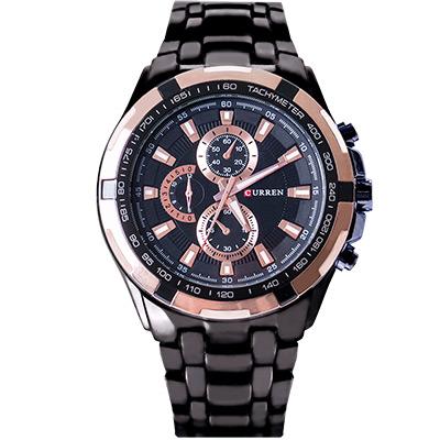 Watch-123 刺金時代 決勝超正點仿三眼腕錶/42mm