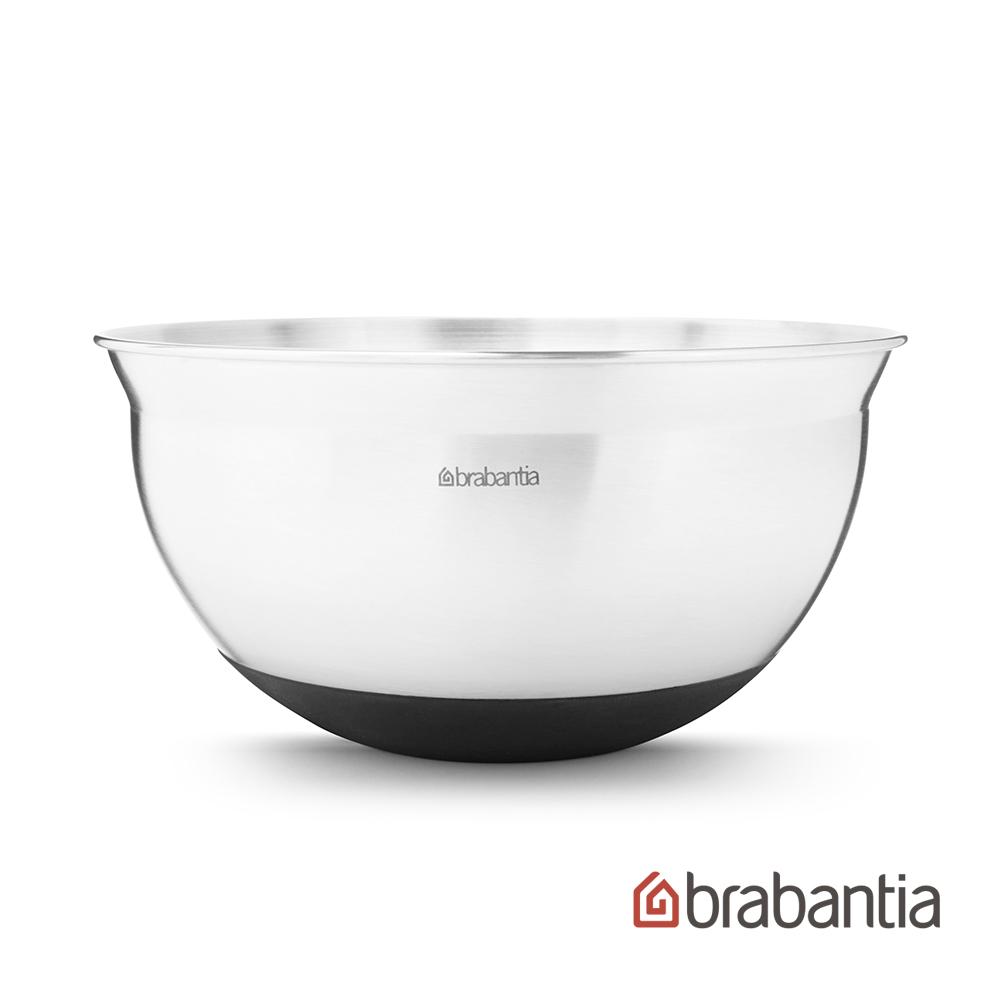 【Brabantia】 不鏽鋼調理缽1.6L-沉穩黑