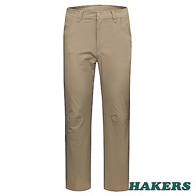 【HAKERS 】男-休閒長褲-淺卡其