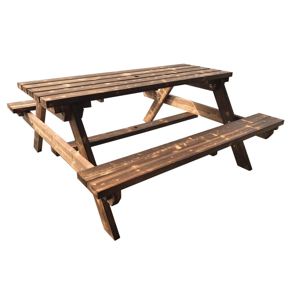 戶外實木啤酒桌 庭園椅-DIY