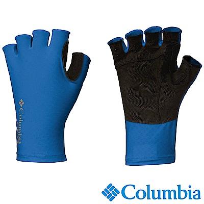 Columbia 哥倫比亞 -涼感快排防曬抗UV50手套 藍 UCU99970BL