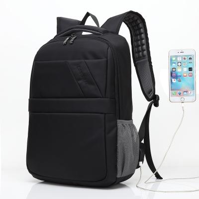 DF BAGSCHOOL - 商務紳士機能款內建USB後背包-共2色