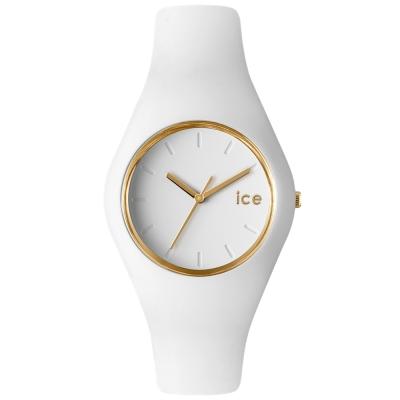 Ice-Watch 亮采系列 優雅名媛手錶 S -白x金/38mm