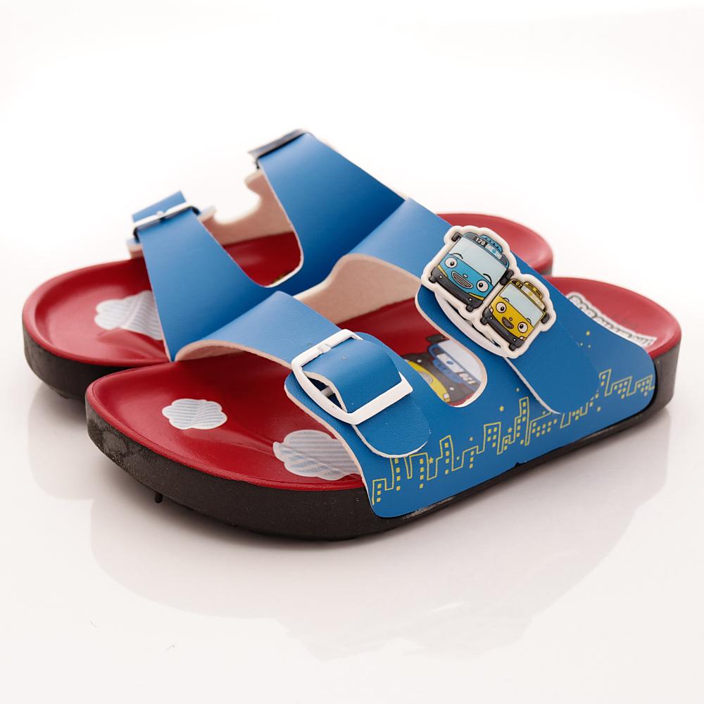 TAYO小巴士-休閒涼鞋款-TSE4712藍紅(小童段)T1