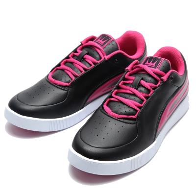 DADA-SUPREME-CITY-NIGHT-時尚休閒鞋-女-黑桃紅