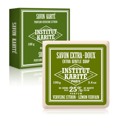 Institut Karite Paris巴黎乳油木檸檬馬鞭草皂 100g