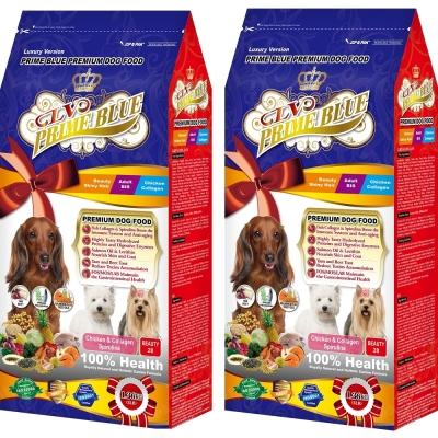 LV藍帶精選 美容成犬1.36kg 2包超值組 紐澳雞肉鮭魚+膠原蛋白食譜