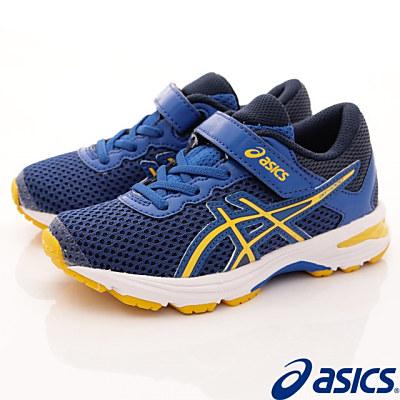 asics競速童鞋 高緩衝機能運動款 SE41N-4504 藍 (中小童段)T
