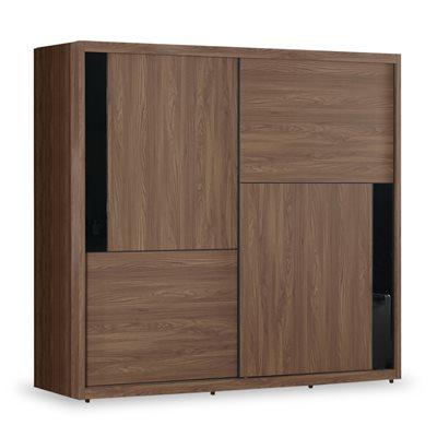 時尚屋 約克7尺拉門衣櫃 寬211x深60x高207cm