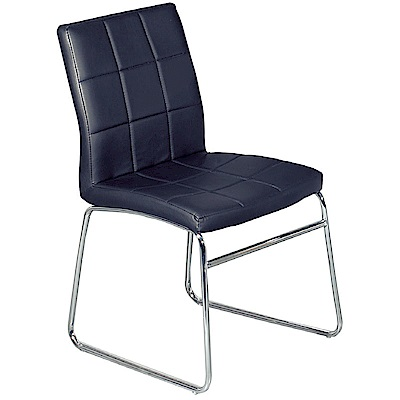 AS-大衛黑色餐椅-45x47x84.5cm