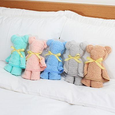 [超值5件組] Lovel 3M頂極輕柔棉超細纖維抗菌毛巾(5色各1)
