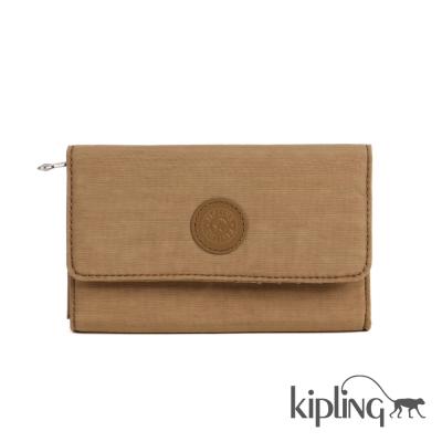 Kipling 零錢包 土耳其黃素色-小