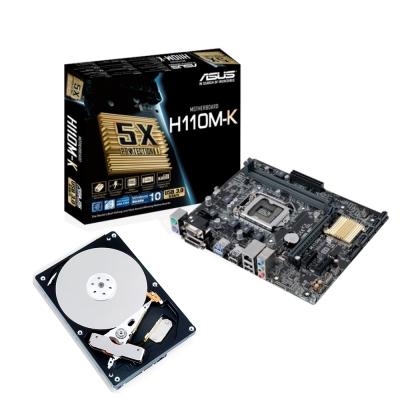 華碩H110M-K +TOSHIBA 1TB硬碟