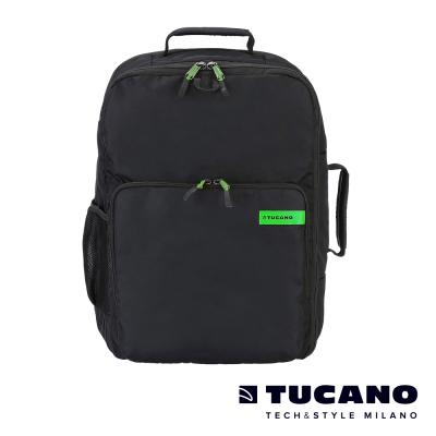 TUCANO MISTER 28.5L超大容量旅行運動後背包-黑