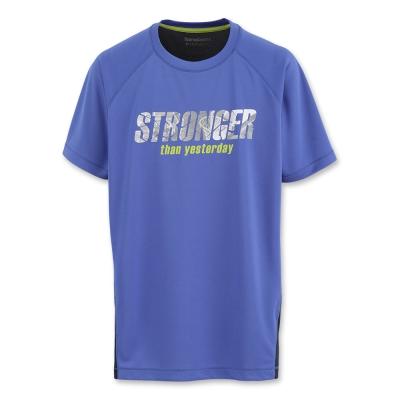 Hang Ten - 男裝 - ThermoContro排汗T-Shirt-藍