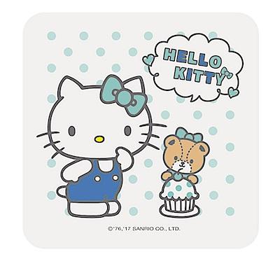 【三麗鷗獨家授權】Hello Kitty繽紛彩繪杯墊/皂盤-下午茶