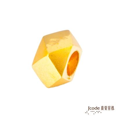 J'code真愛密碼 右偏執面黃金串珠-女