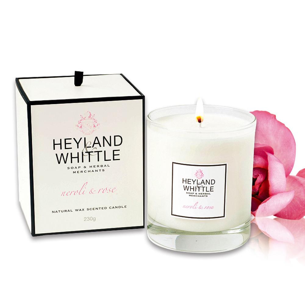 H&W英倫薇朵 橙花玫瑰香氛燭 230g