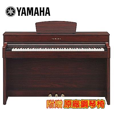 YAMAHA CLP-535M 88鍵標準數位電鋼琴 桃花心木色款