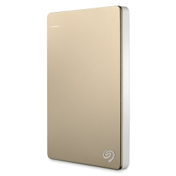 Seagate 4TB Backup Plus行動硬碟-金色