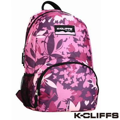 美國K-CLIFFS 潮流迷彩時尚後背包 粉