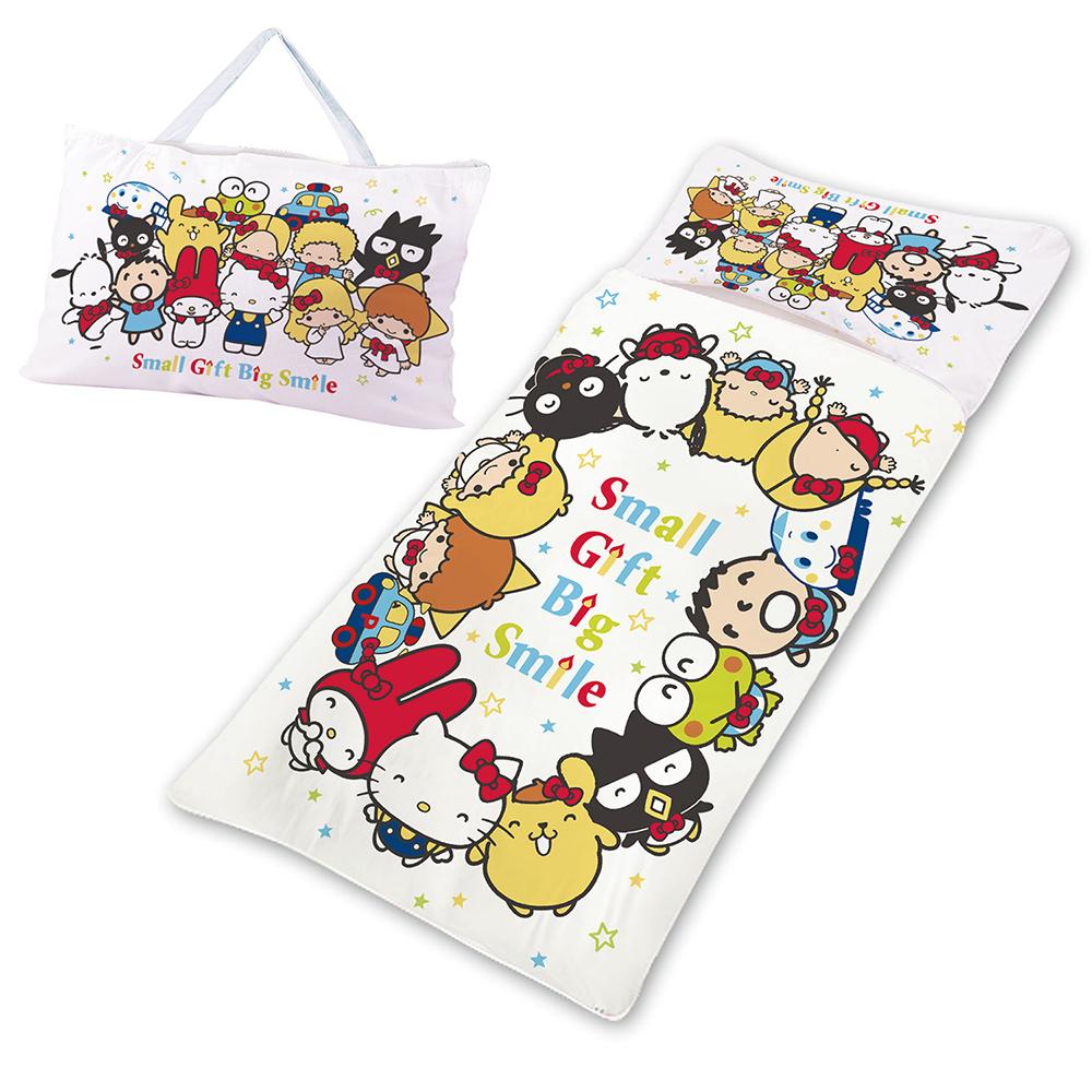 三麗鷗 50周年紀念版系列-精梳棉冬夏兩用兒童睡袋(促)